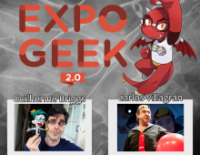 Revista Avessa no Expo Geek Brasil